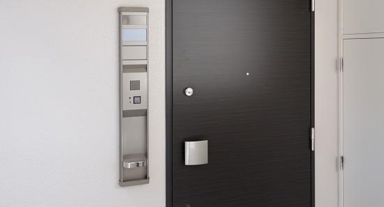 各ドアを非接触キーに